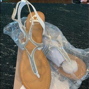 Women's Fergalicious sandals. Never worn.